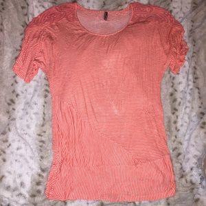 Vanity Orange XL stripe flattering + comfortable